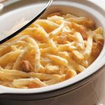 Slow-Cooked Cheesy Potatoes