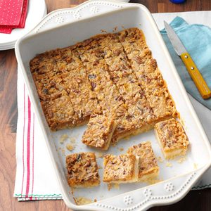 Toffee Pecan Bars