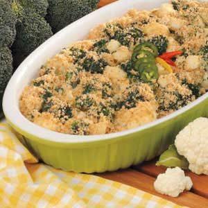 Broccoli Cauliflower Bake