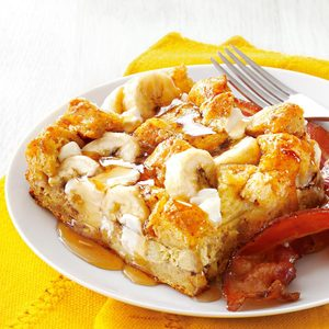 Banana French Toast Bake