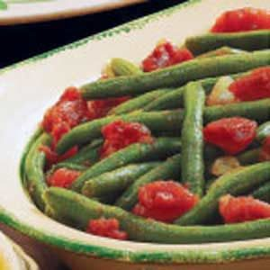 Seasoned Beans and Tomatoes