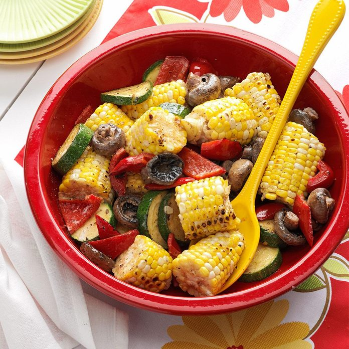 Grilled Corn Medley