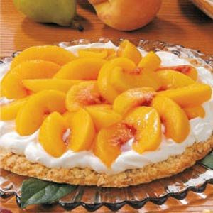 Coconut Peach Dessert