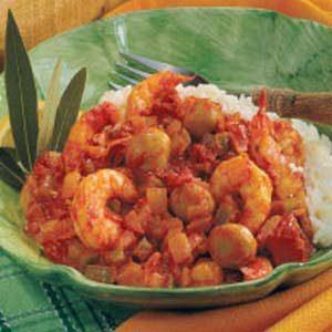 Mushroom Shrimp Creole