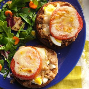 Snappy Tuna Melts