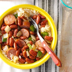 Red Beans and Sausage