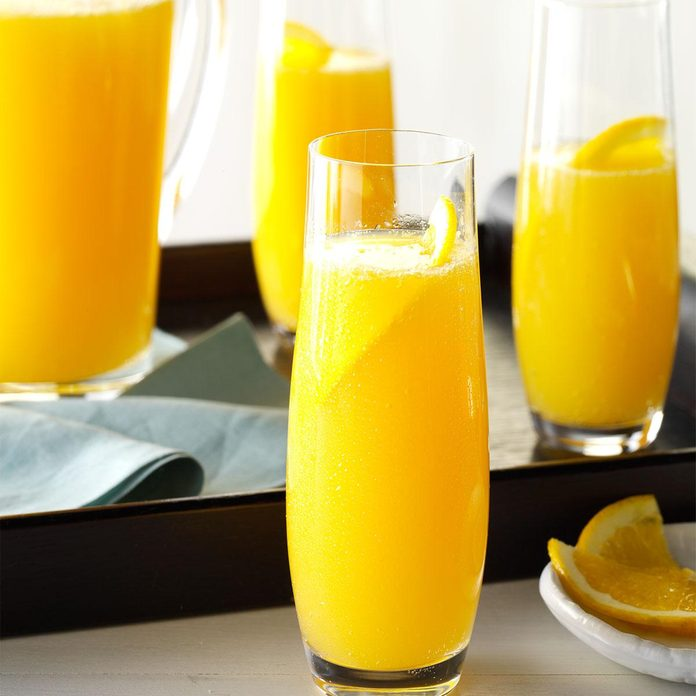 Orange-Apricot Mimosa Punch
