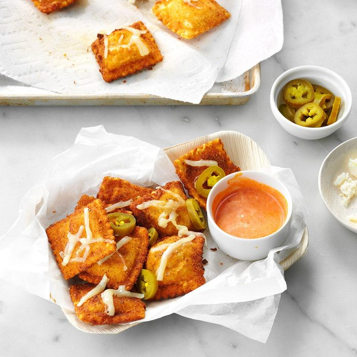 Toasted Mexican Ravioli