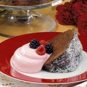 Chocolate Berry Pound Cake