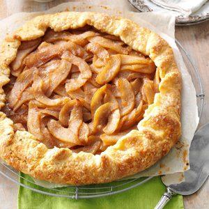 Cinnamon-Pear Rustic Tart