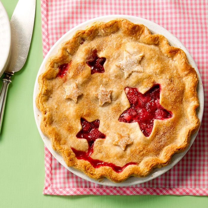 Juicy Raspberry Pie