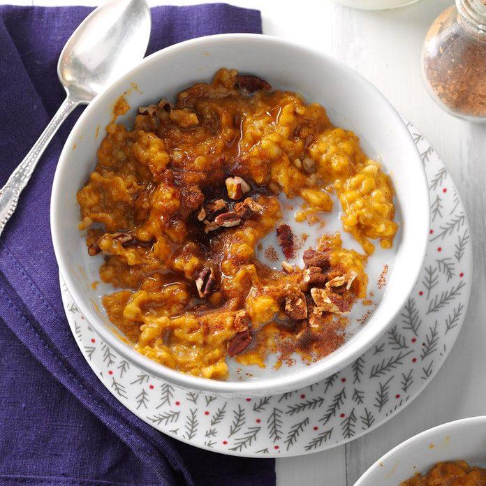 Pumpkin Spice Oatmeal