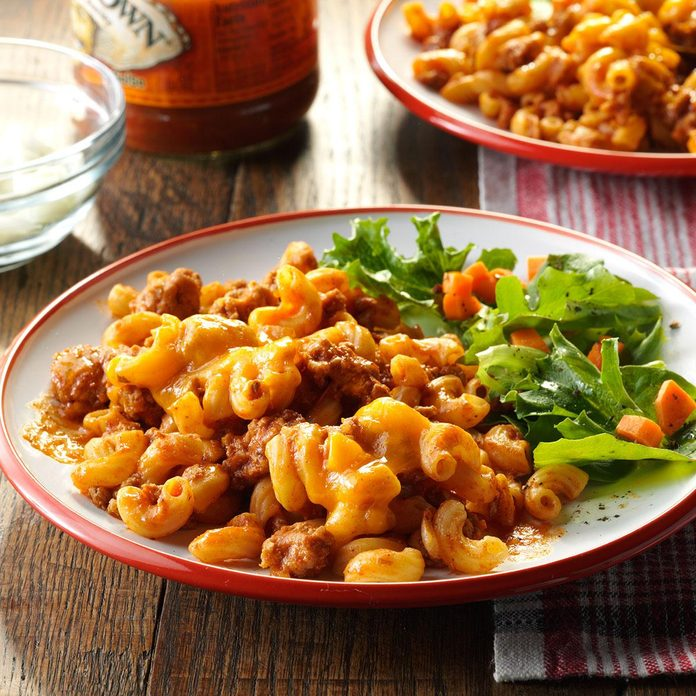 Turkey Taco Macaroni
