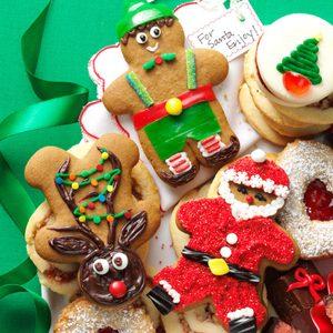 Gingerbread Cutout Christmas Cookies