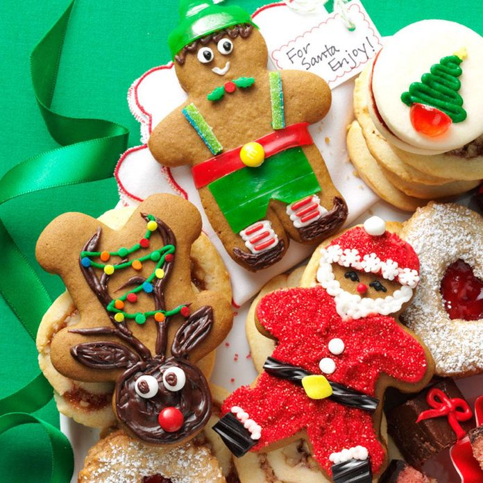 Gingerbread Cutout Christmas Cookies
