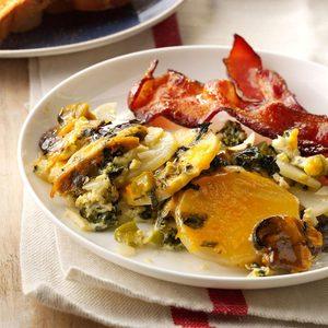 Overnight Vegetable & Egg Breakfast