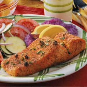Creole Salmon Fillets