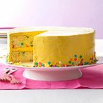 Confetti Cake with Brown Sugar Buttercream