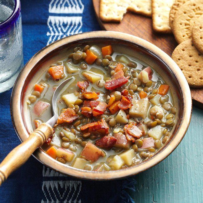 Hearty Vegetable Lentil Soup