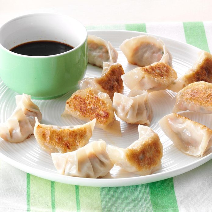 Pork & Chive Pot Stickers