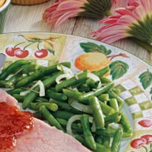 Rosemary Green Beans