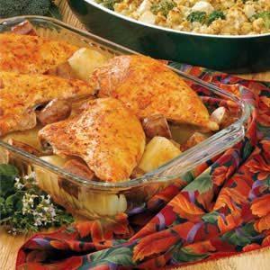 Sausage 'N' Chicken Casserole