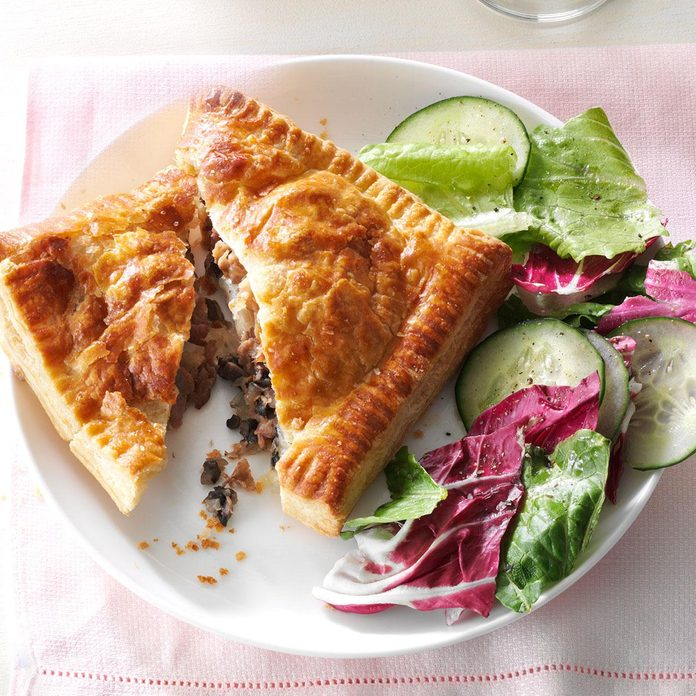 Provolone Beef Pastry Pockets