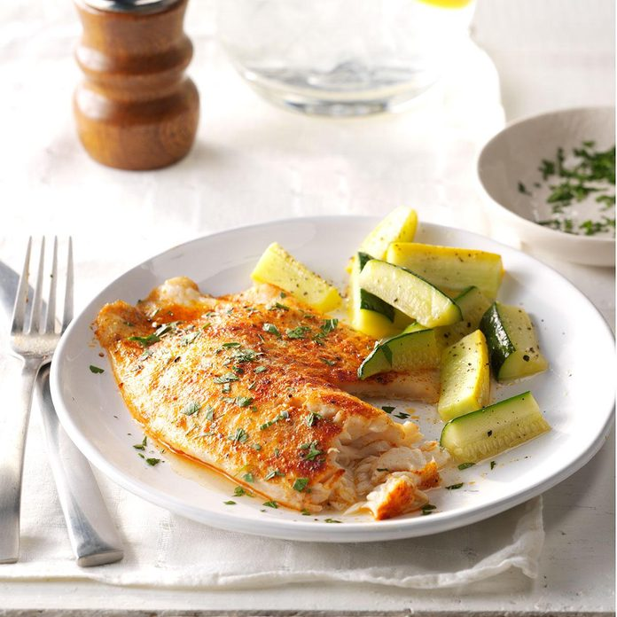 Lemon-Pepper Tilapia
