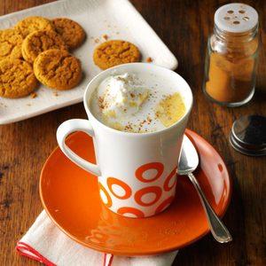 Pumpkin Spice Hot Chocolate