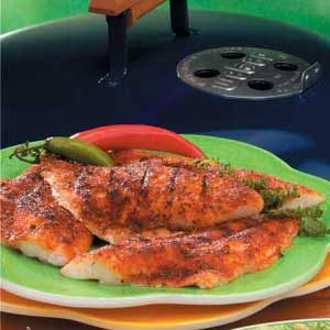 Grilled Spiced Fish