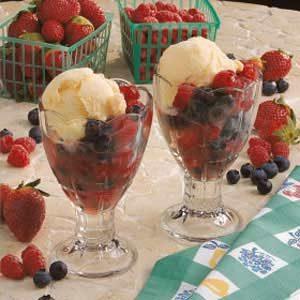 Finnish Berry Dessert
