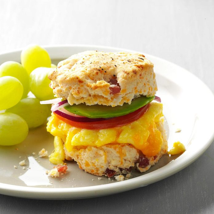 Inspired By: Bacon, Egg & Cheese Biscuit