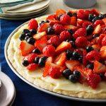 Vanilla Cream Fruit Tart