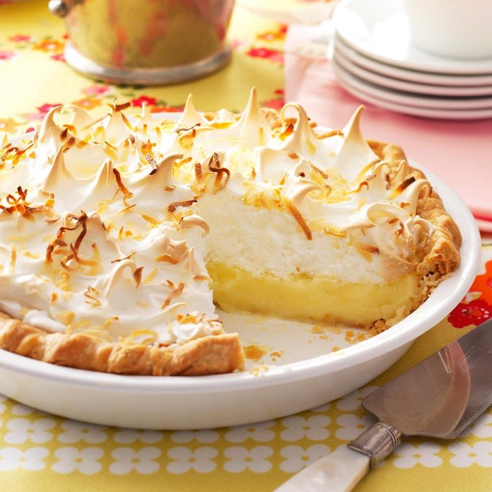 Inspired by Jane's Coconut Meringue Pie