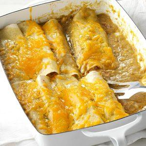 Onion & Green Chile Enchiladas