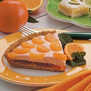 Mandarin Orange Cream Pie