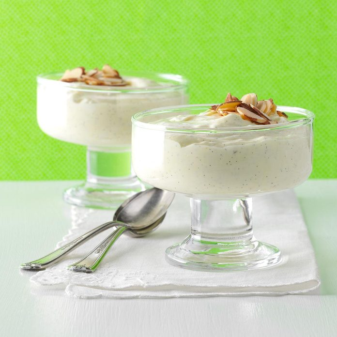 Vanilla White Chocolate Mousse