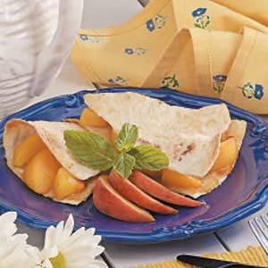 Tortilla Fruit Pie