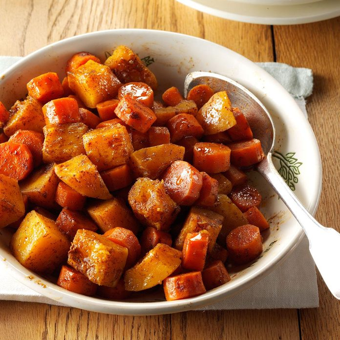 Spiced Carrots & Butternut Squash