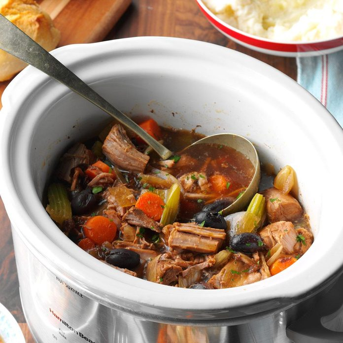 Day 22: Slow-Cooked Pork Stew