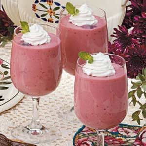 Black Cherry Cream Parfaits