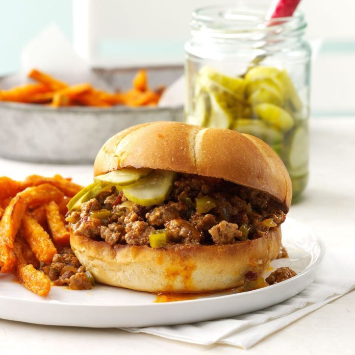 Chipotle Chili Sloppy Joes