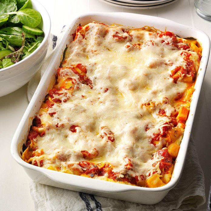 Day 5: Butternut & Portobello Lasagna