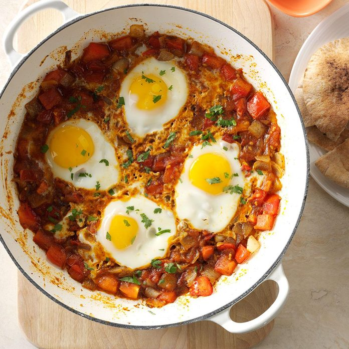 Day 2 Breakfast: Shakshuka
