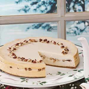 Maple Honey Cheesecake