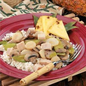 Turkey and Vegetable Stir-Fry