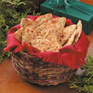 Cheesy Pita Crisps