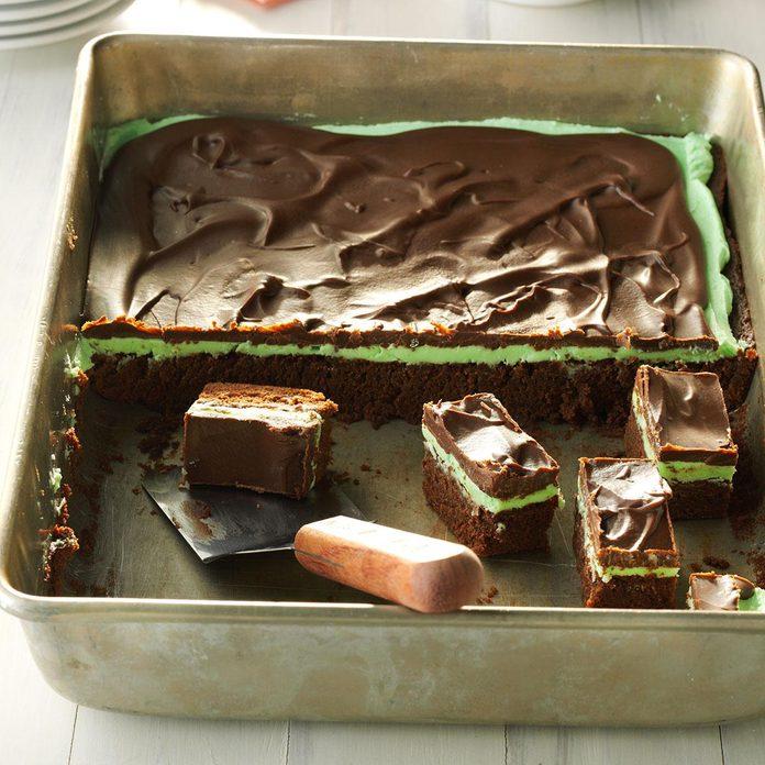1971: Grasshopper Brownies