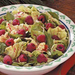 Raspberry Tossed Salad