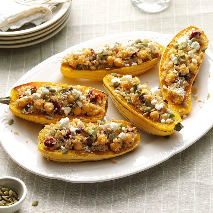 Day 6 Lunch: Quinoa-Stuffed Squash Boats